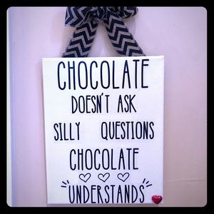❤️🆕Chocolate sign!